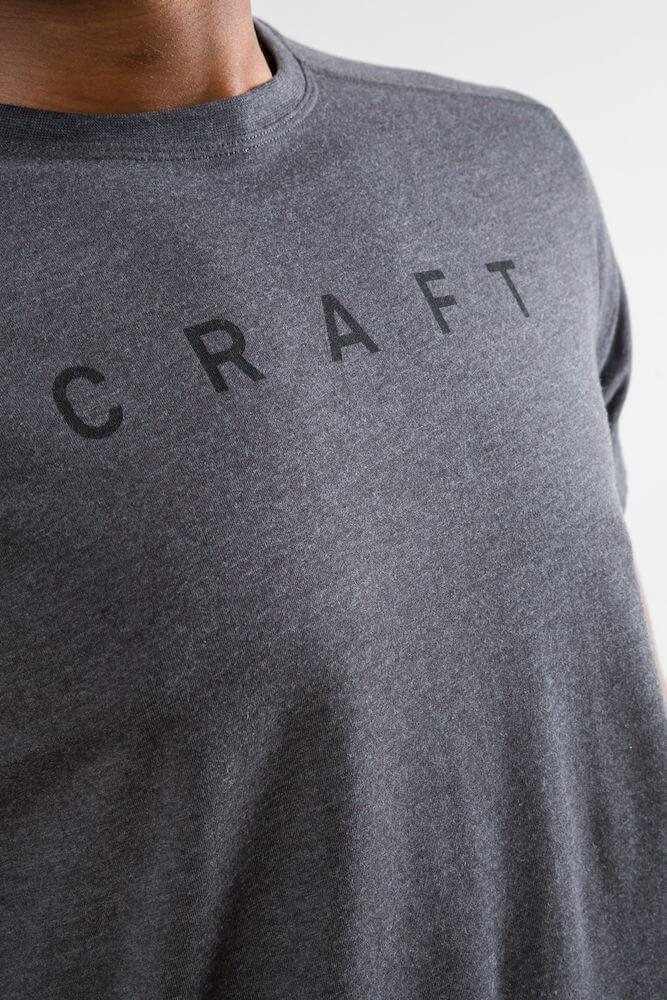 Craft Deft 2.0 футболка мужская dark grey - 4