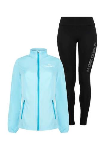 Nordski Motion Elite костюм для бега женский breeze-black