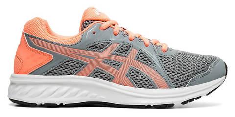 Asics Jolt 2 Gs кроссовки для бега подростковые серые-коралловые