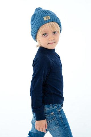 Janus Prince or Princess Wool комплект термобелья детский темно-синий