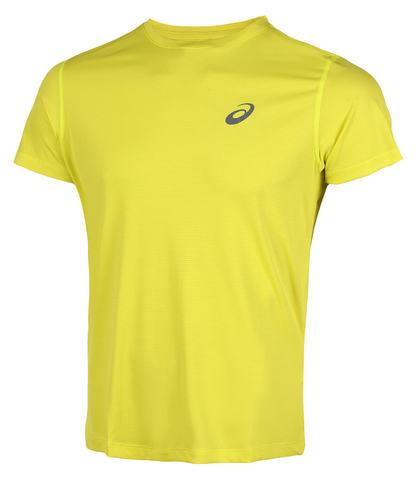 Asics Silver Ss Top футболка для бега мужская желтая