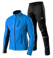 Victory Code Dynamic разминочный лыжный костюм синий