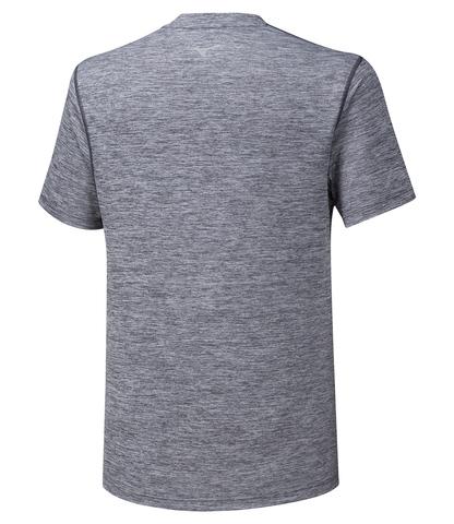Mizuno Impulse Core Tee футболка для бега мужская серая