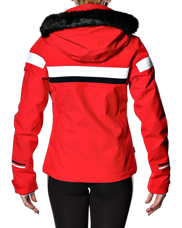 Горнолыжная куртка 8848 Altitude Carlin красная - 4