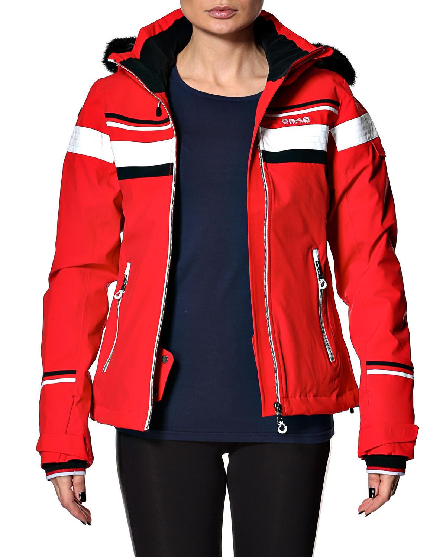 Горнолыжная куртка 8848 Altitude Carlin красная - 2