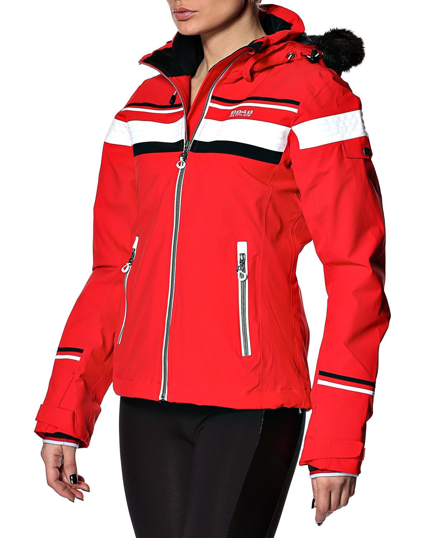 Горнолыжная куртка 8848 Altitude Carlin красная - 3