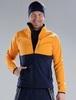 Nordski Premium лыжная куртка мужская orange-blueberry - 1