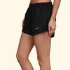Шорты л/а Nike Tempo Embross Run Short (W) чёрные - 4