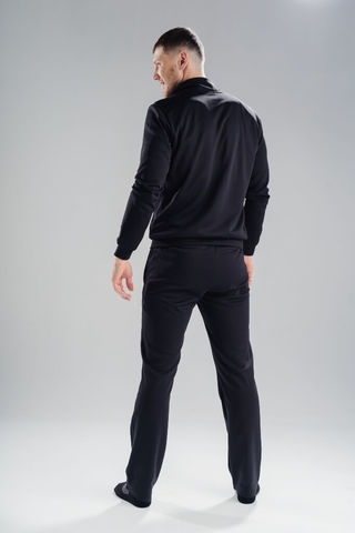 Nordski Zip толстовка мужская black-blue