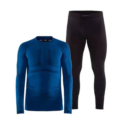 Craft Active Intensity комплект термобелья мужской blue-black