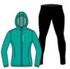 Nordski Run Premium костюм для бега женский Dark Breeze-Black - 4