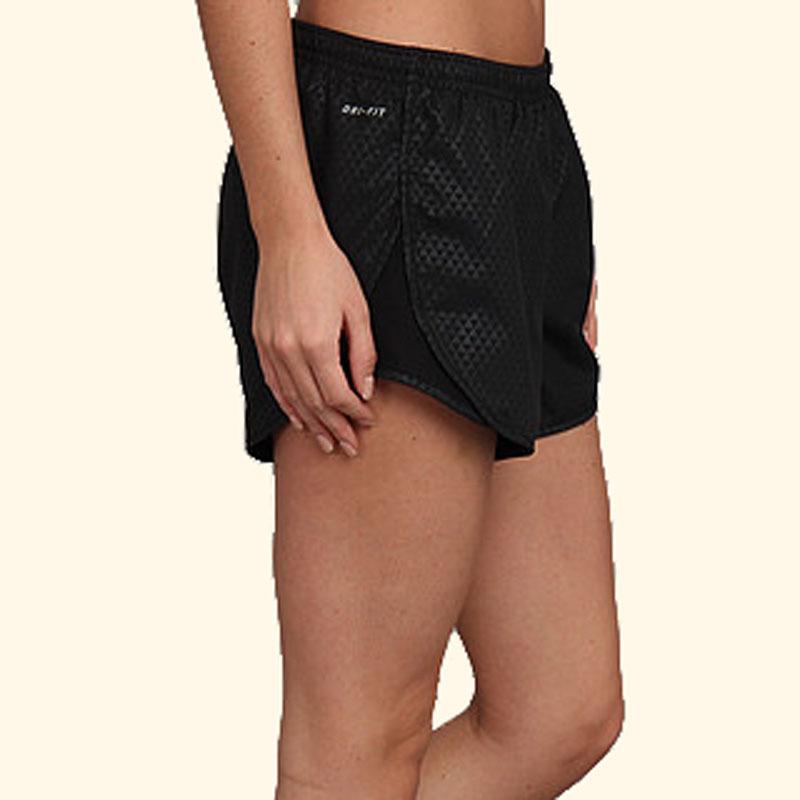 Шорты л/а Nike Tempo Embross Run Short (W) чёрные - 6