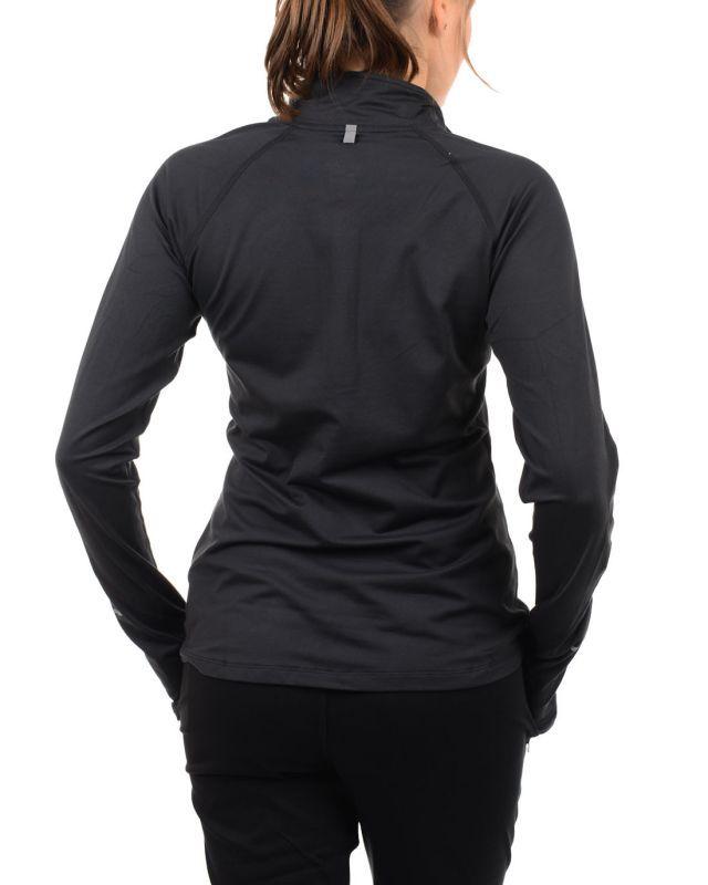 Футболка Nike Element H/Z (W) /Рубашка беговая чёрная - 4