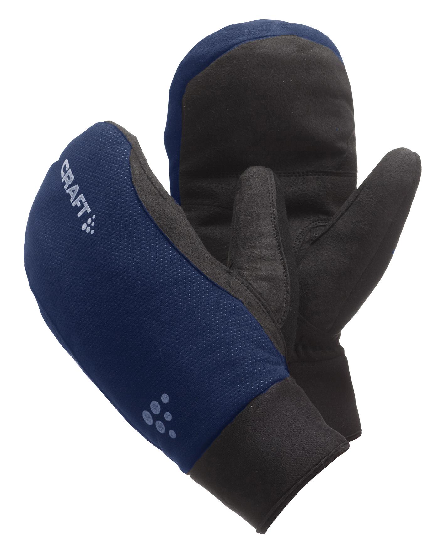 Варежки Craft Active сине-чёрные