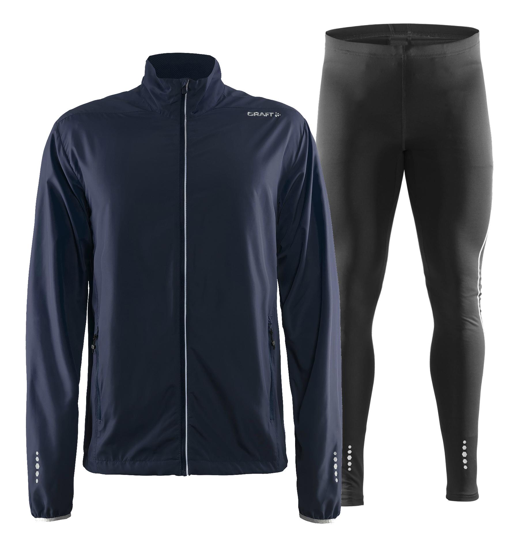 Craft Mind Run мужской костюм для бега темно-синий