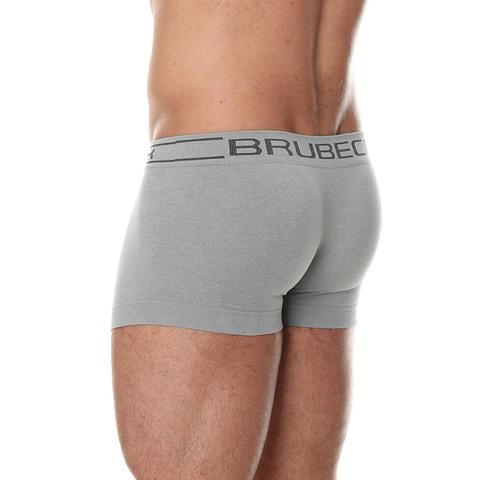 Brubeck Comfort Boxer трусы мини боксеры мужские серые