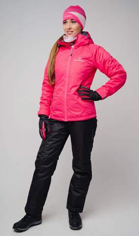 Nordski Motion Montana утепленный костюм женский raspberry