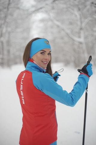 Nordski Premium лыжная куртка женская red blue