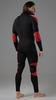 V-MOTION Alpinesports мужское термобелье комплект черно-красный - 2