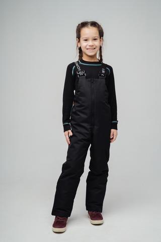 Nordski Kids утепленные лыжные брюки детские black