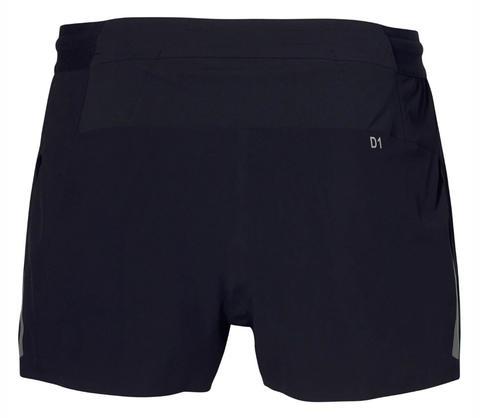 Asics Metarun Split Short шорты для бега мужские черные