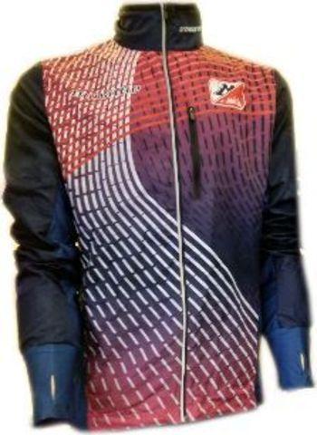 Noname Running Jacket Plus Jicin JR беговая куртка детская синяя-красная