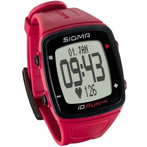Sigma ID.RUN HR спортивные часы rouge