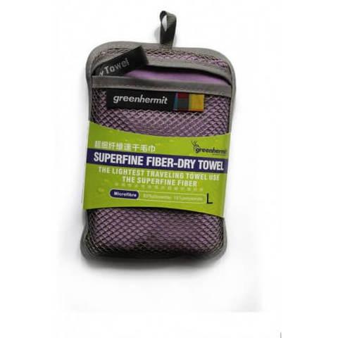 Green-Hermit Superfine Fiber Day Towel полотенце фиолетовое