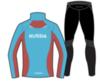 Nordski Premium беговой костюм мужской Black-Blue - 2