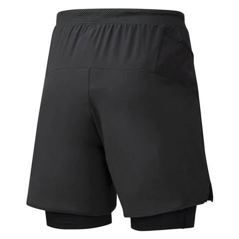 Mizuno Er 7.5 2 In 1 Short шорты для бега мужские