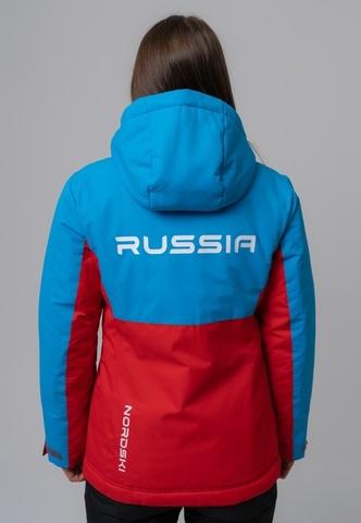 Nordski Montana утепленная куртка женская blue-red