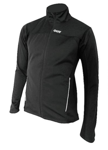 Olly Warm лыжная разминочная куртка black