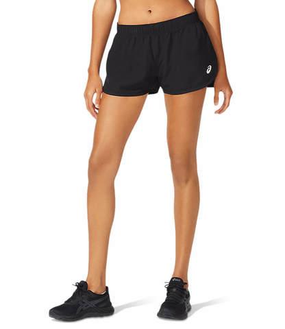 Asics Core Split Short шорты для бега женские черные