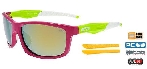 Солнцезащитные очки goggle STYLO+ pink