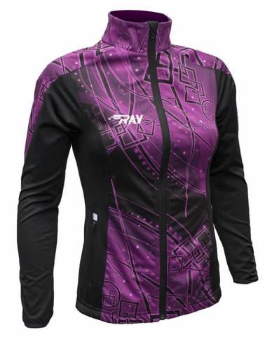 RAY WS Pro Race разминочная куртка женская print