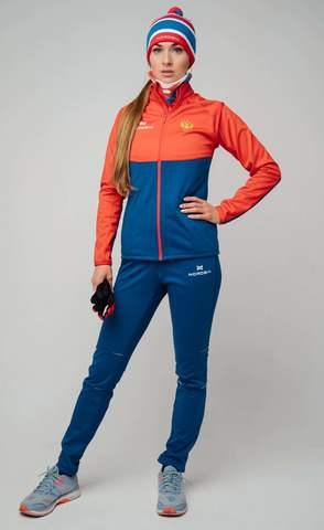 Nordski Premium Patriot лыжный костюм женский