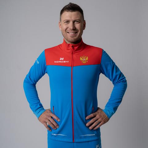 Nordski Pro RUS разминочная куртка мужская