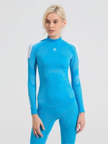 V-MOTION Alpinesports женское термобелье комплект голубой