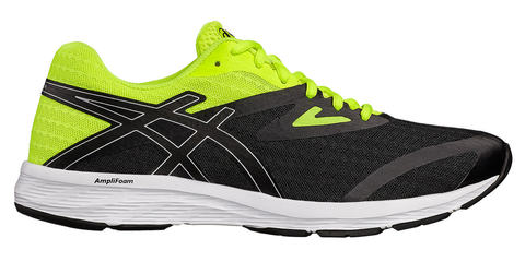 Asics Amplica кроссовки для бега мужские черные-лайм