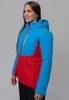 Nordski Montana утепленный лыжный костюм женский blue-red - 4