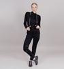 Nordski Premium разминочные лыжные брюки женские черные - 1