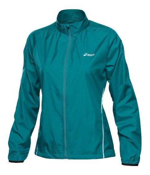 Ветровка женская Asics Woven Jacket green