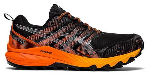 Asics Gel Fujitrabuco 9 GoreTex кроссовки для бега мужские черные-оранжевые