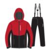 Nordski Montana Premium лыжный костюм зимний мужской Red-Black - 4