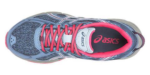 Asics Gel Venture 6 Gs кроссовки для бега подростковые синие-розовые