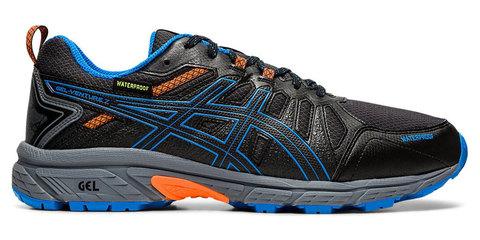 Asics Gel Venture 7 Wp кроссовки-внедорожники для бега мужские черные-синие