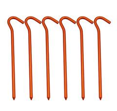 AceCamp Aluminum Tent Peg комплект колышков оранжевый