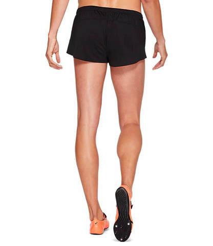 Asics Knit Track Short шорты для бега женские черные
