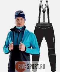 Nordski Premium разминочный костюм мужской breeze-black