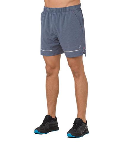"""Asics Lite Show 7"""" Short шорты для бега мужские синие"""